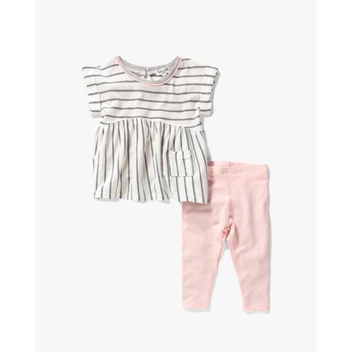 Baby Girl Stripe Top Set