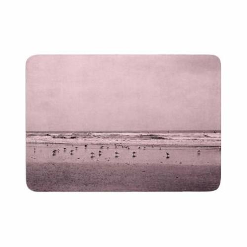 East Urban Home Iris Lehnhardt Seagulls Memory Foam Bath Rug; 0.5'' H x 24'' W x 36'' D