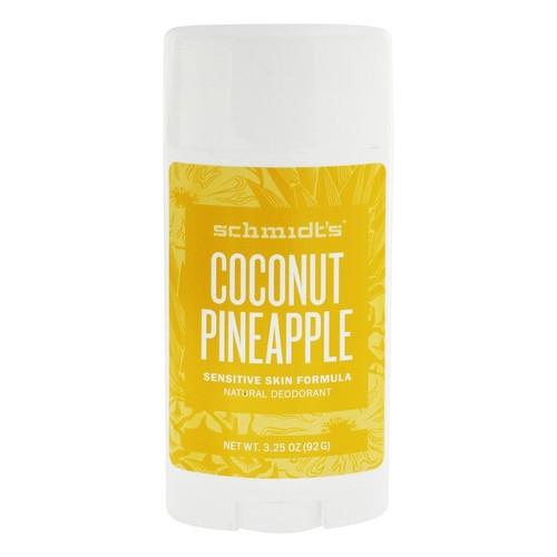 Natural Deodorant Sensitive Skin Formula Coconut Pineapple - 3.25 oz.