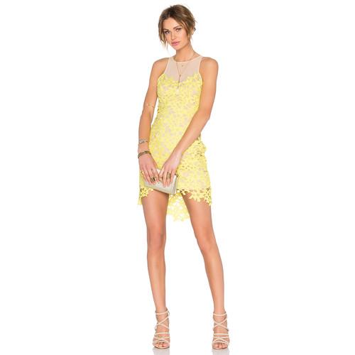Lovers + Friends Larissa Dress in Sunshine