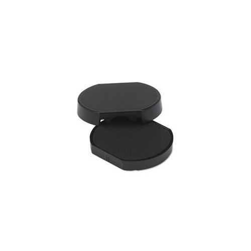 Trodat T46140 Dater Replacement Pad, 1 5/8, Black