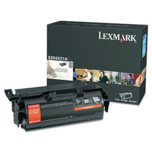 Lexmark Extra High Yield Toner Cartridge - Black Toner Cartridge
