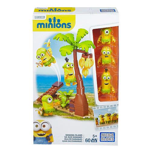 Mega Bloks Despicable Me Banana Island Playset