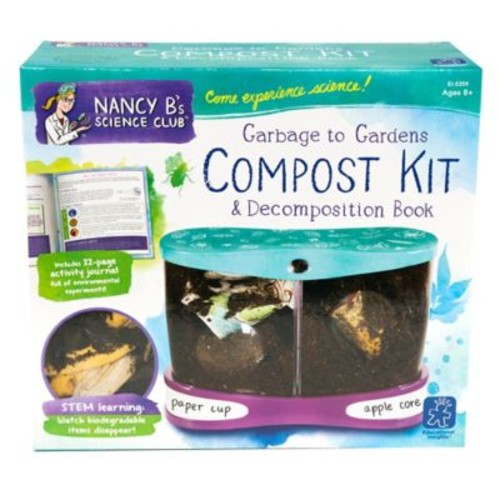 Educational Insights Nancy B's Science Club Garbage to Gardens Compost Kit
