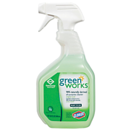 Green Works Natural All-Purpose Cleaner, 32 Oz. Spray