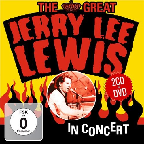 The Great Jerry Lee Lewis in Concert [CD & DVD]