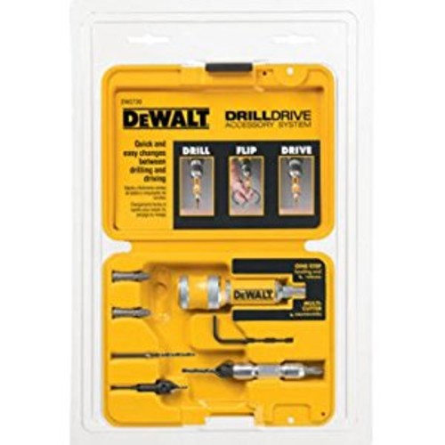 DEWALT DW2730 8 Piece Quick Change Drill and Drive Set