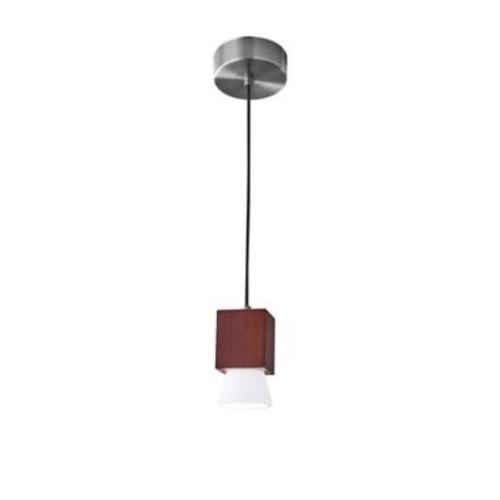 Adesso LED Pendant Lamp Walnut (3096-15)