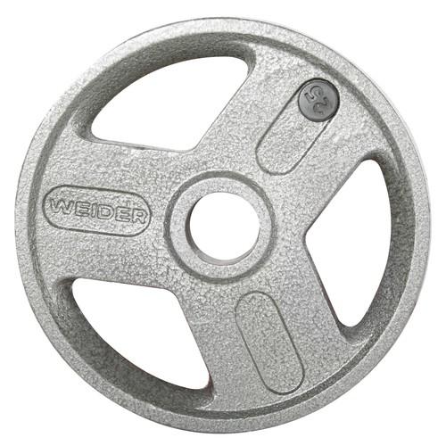 Weider 25 lb. Olympic Handle Hammertone Plate