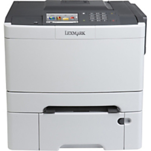 Lexmark CS510DTE Laser Printer - Color - 2400 x 600 dpi Print - Plain Paper Print - Desktop - TAA Compliant