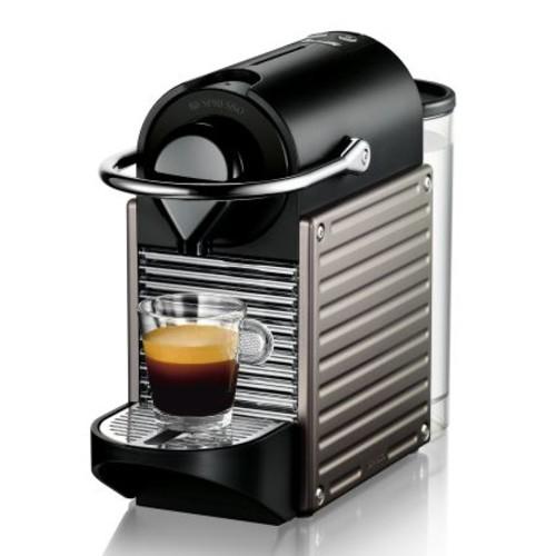 Nespresso Pixie by Breville Espresso Machine, Titan