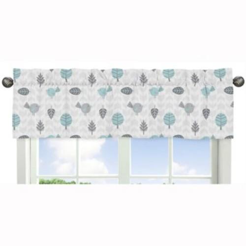 Sweet Jojo Designs Earth and Sky Bird and Leaf Window Valance