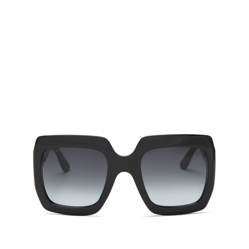 GUCCI Oversized Gradient Square Sunglasses, 54Mm