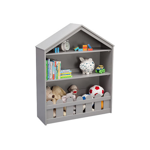 Serta Happy Home Storage Bookcase - Grey