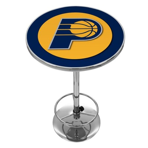 Trademark NBA Indian Pacers Chrome Pub/Bar Table