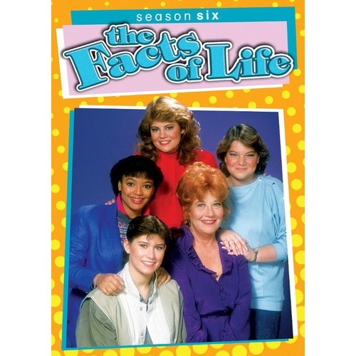 The Facts of Life: Season Six [3 Discs] [DVD]