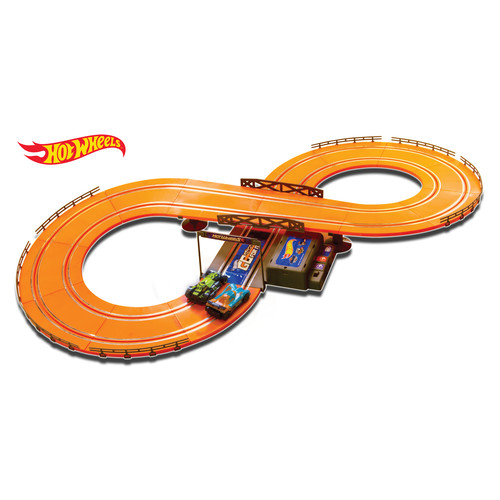 KidzTech Hot Wheels Batter Operated 9.3 ft. Slot Track