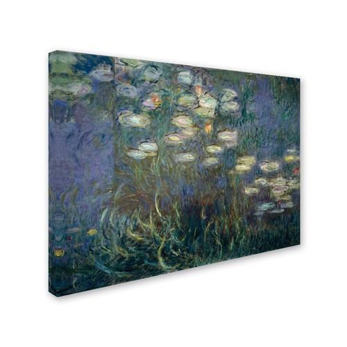 Trademark Fine Art 'Water Lilies 1840-1926' 24