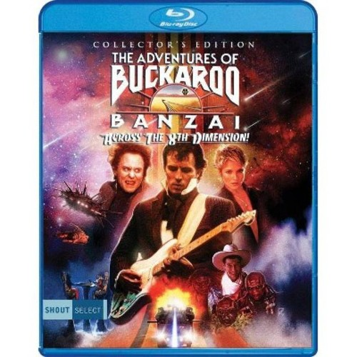 The Adventures Of Buckaroo Banzai Across The 8th Dimension (Blu-ray Disc)