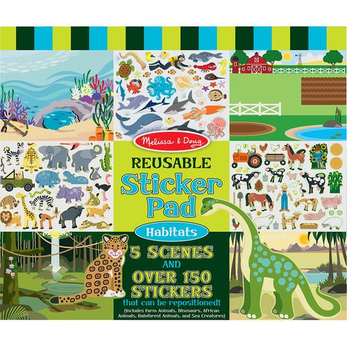 Melissa & Doug Vehicles and Animals Activity Pad Bundle 9722