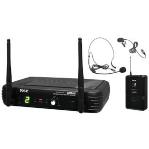 Pyle-Pro UHF Wireless Body Pack Transmitter Microphone System