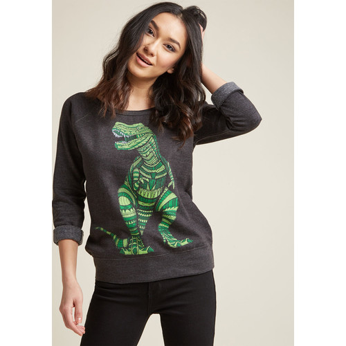 Give It a Rex Graphic Sweatshirt