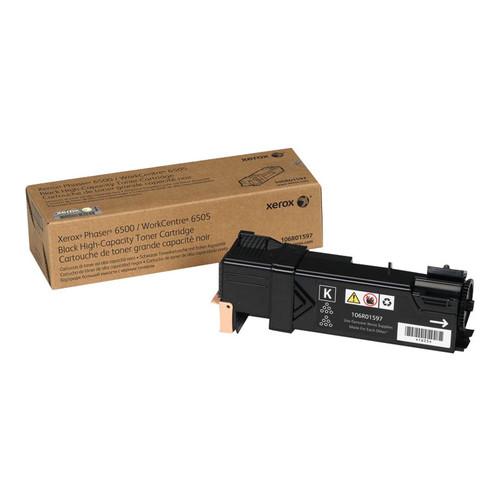 106R01597 High-Capacity Toner Cartridge, 3,000 Page-Yield, Black