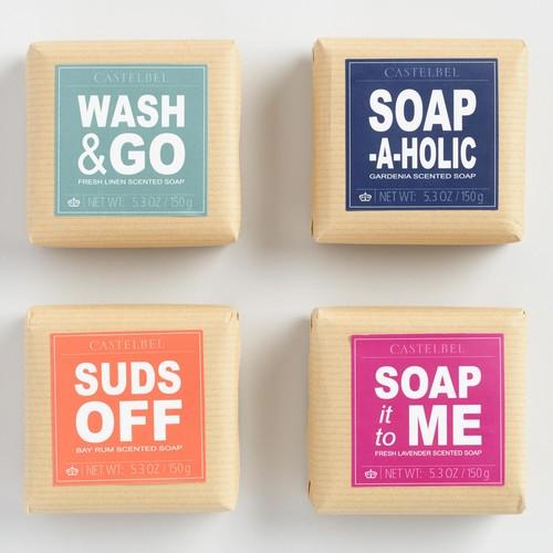 Castelbel Words Bar Soap Collection