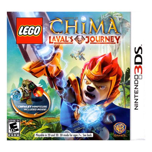 Chima Laval's Journey w/ Crawley Minifigure - Nintendo 3DS
