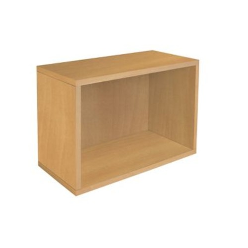 Way Basics Rectangle Plus zBoard Recycled Paper Bookcase