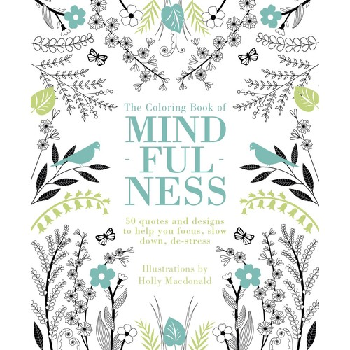 The Coloring Book of Mindfulness (Paperback)