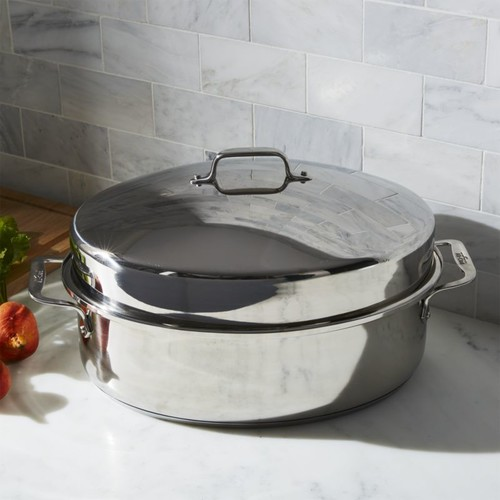All-Clad  Oval Roasting Pan with Lid