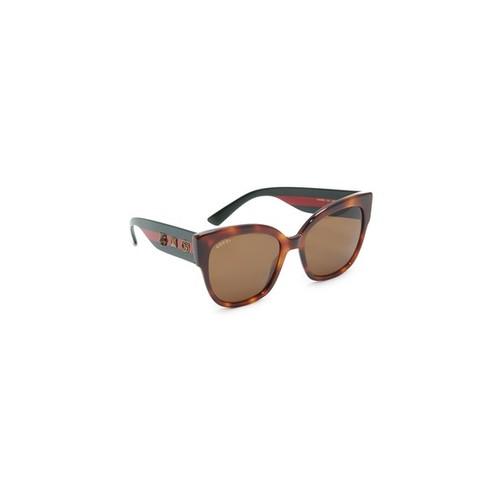 GUCCI Oversized Tiger Sunglasses