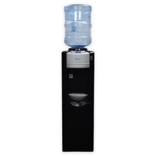 Air Pure Spring Top-Load Hot and Cold Water Dispenser in Black