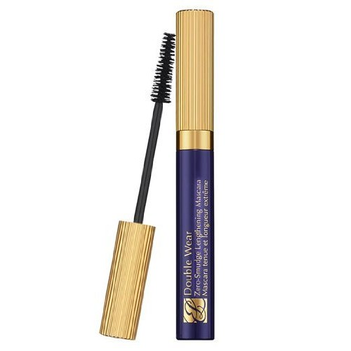 Estee Lauder Double Wear Zero-Smudge Lengthening Mascara Black for Women, 0.22 Ounce [01 Black]