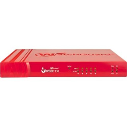 WatchGuard T30 Network Security/Firewall Appliance