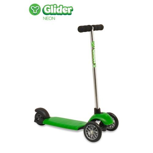 yvolution Y Glider Neon Green Scooter