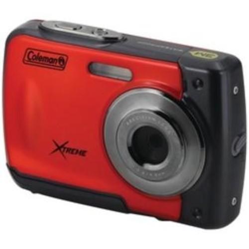 Coleman 18.0-megapixel C20wp Xtreme Hd Waterproof Digital Camera (red)