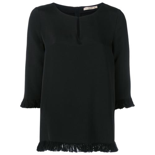 frayed blouse