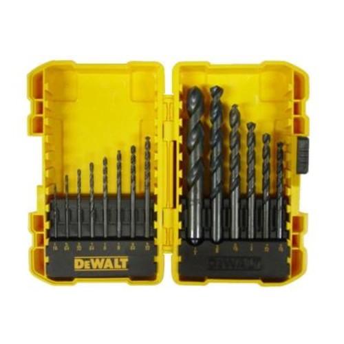 DEWALT Black Oxide Drill Bit Set (14-Piece)