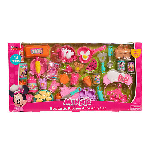 Disney Minnie Mouse's Bowtastic Kitchen Accessory Set
