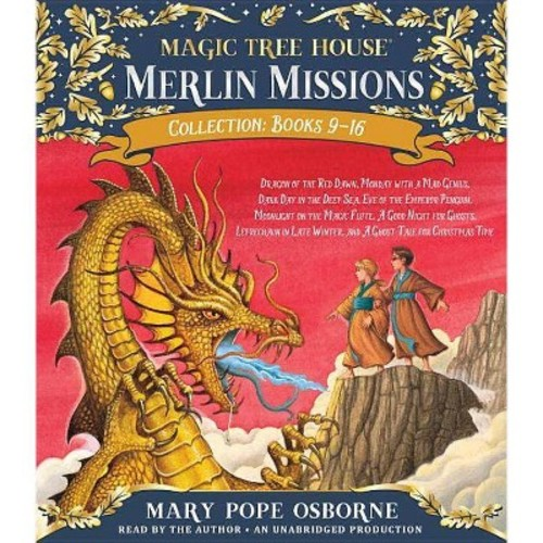 Merlin Mission Collection : Dragon of the Red Dawn / Monday With a Mad Genius / Dark Day in the Deep Sea