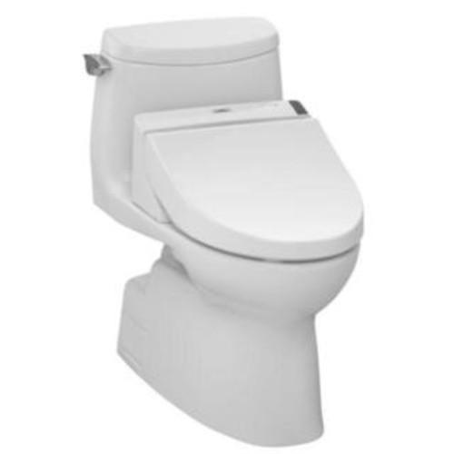Toto UltraMax II One-Piece Elongated 1.28 GPF Universal Height Toilet MS604114CEF#51 Ebony