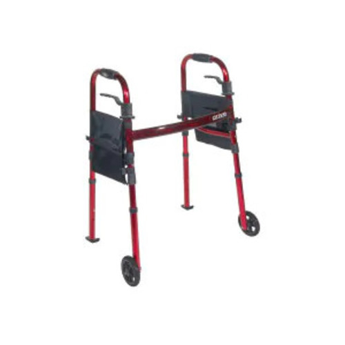 Drive Medical Portable Folding Travel Walker with 5\