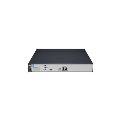 HP E-MSM760 Access Controller - Network management device - 2 ports - 10Mb LAN, 100Mb LAN, Gigabit LAN - 1U - rack-mount