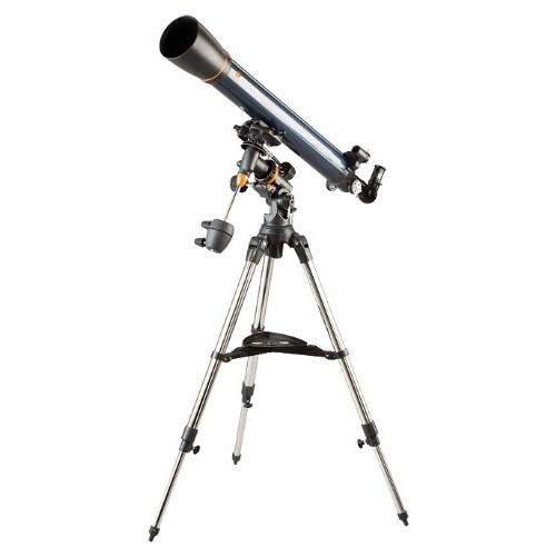 Celestron AstroMaster 90 EQ Equatorial Refractor Telescope