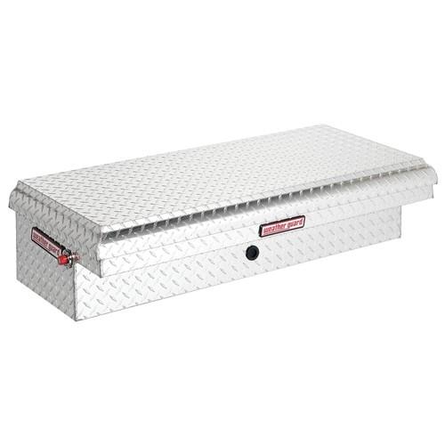 Aluminum Diamond Plate Innerside Truck Box, Passenger Side, Silver, Single, 3.2 cu. ft.