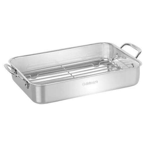 Cuisinart - Chef's Classic Lasagna Pan - Stainless-Steel