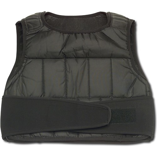 GoFit - 20-Lb. Weighted Vest - Black