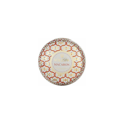 Voluspa Maison Blanc Collection, 2 Wick Metallo Candle, Macaron